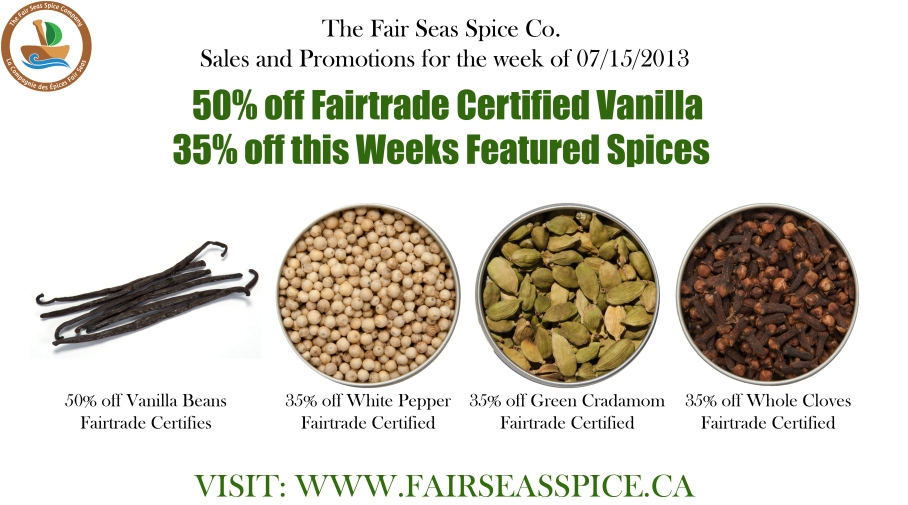Spice Sales and Promotions